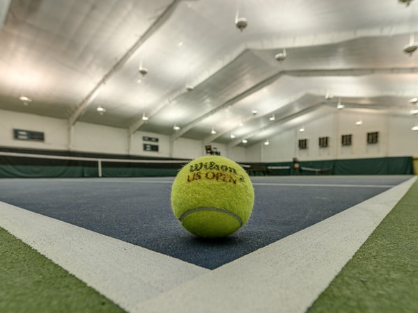 Indoor Tennis Practice Facility